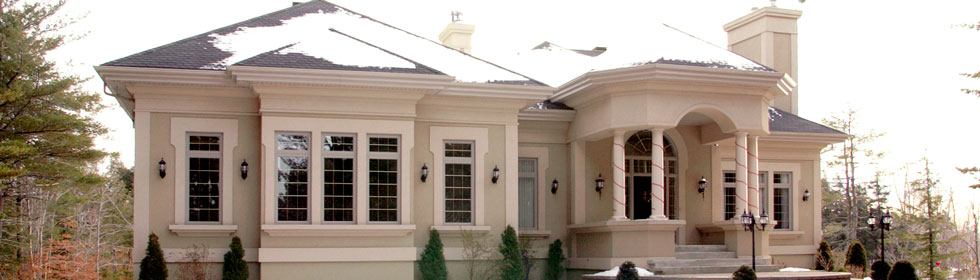 Stucco ext rieur nos services isolex inc for Enduit acrylique exterieur